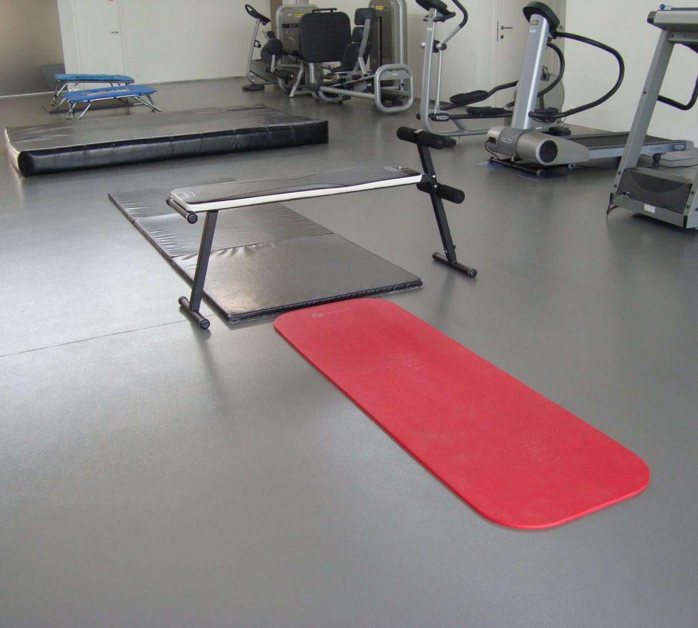 Epoxy Gietvloer sportrevalidatiezaal