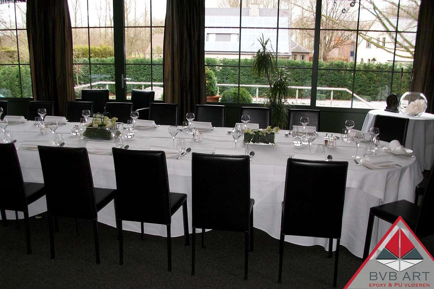 Grindvloer Steentapijt Restaurant
