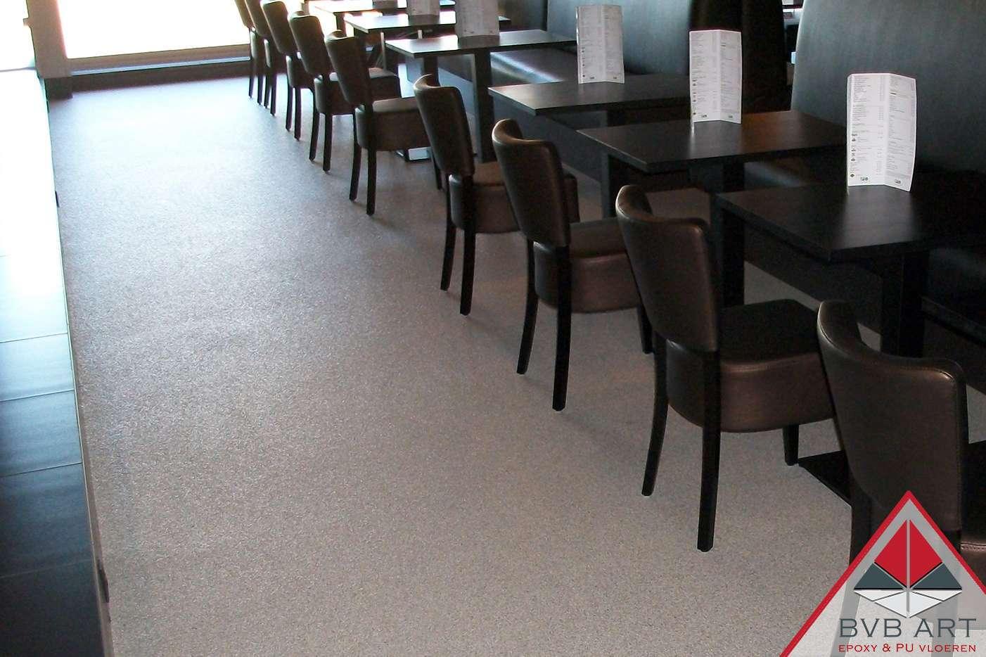 Grindvloer/Steentapijt Lunchroom