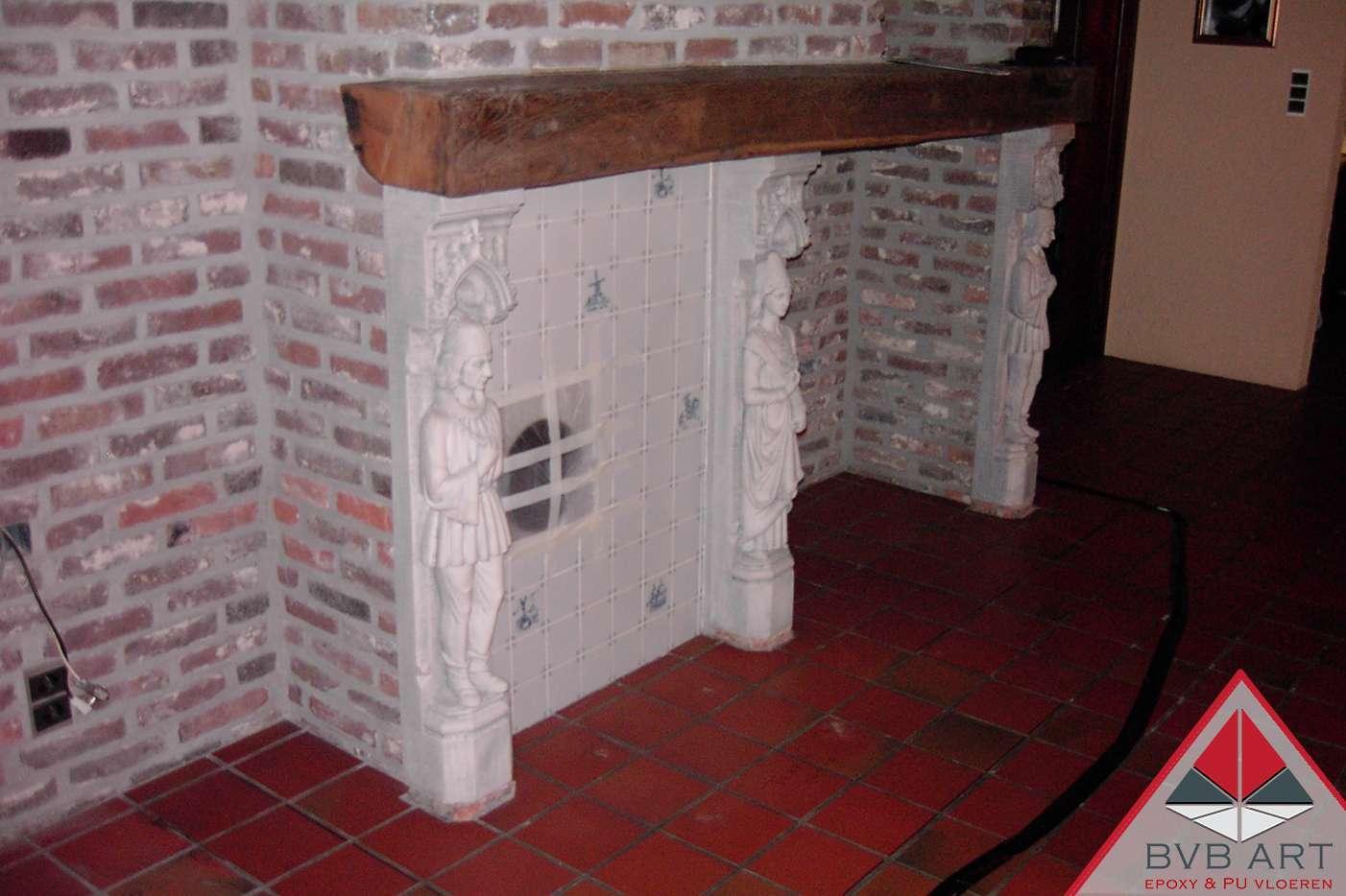 Renovatieproject tegelvloer – grindvloer