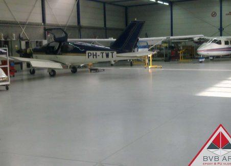industriële Coatingvloer Hangar