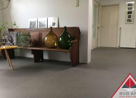 Troffelvloer woonhuis Amersfoort